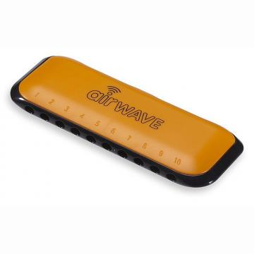 Custom Airwave 1O Harmonica with Instruction Booklet - Orange