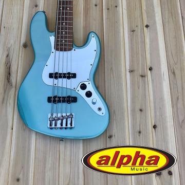 Custom Fender Standard Jazz Bass V Agave Blue w/gig bag