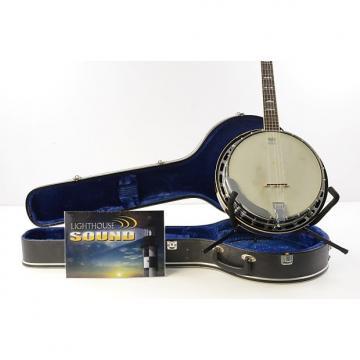 Custom 80's Fender Leo Standard 5-String Banjo - Natural w/ Fender Case