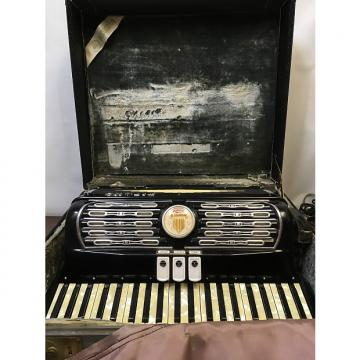 Custom Titano Vintage accordion 1940s - 1950s Black