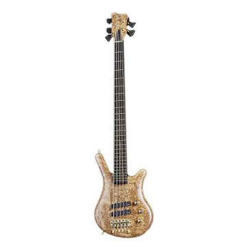 Custom Warwick Custom Shop LTD Thumb NT Ebony Fingerboard Electric Bass Natural Satin - 0275EX9014GZXXX5WW