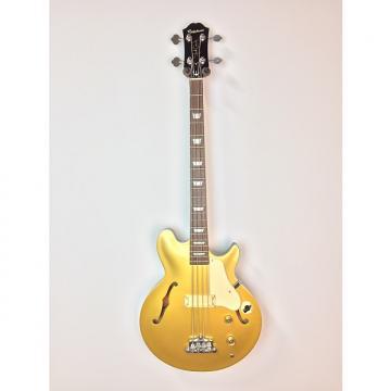 Custom Epiphone Chuck Garric Owned Jack Casady Signature Bass Gold
