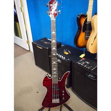 Custom B.C. Rich Masterpiece Mocking Bird 4 String Bass