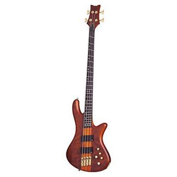 Custom Schecter Stiletto Studio-4 FF Honey Satin HSN 4 String Bass, 2793