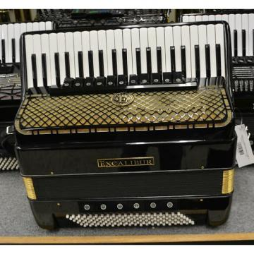 Custom Excalibur Imperial Piano Accordion w/Tone Chamber