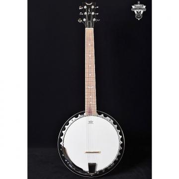 Custom Dean Backwoods 6-String Banjo Natural