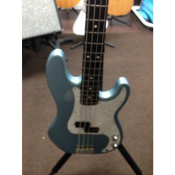 Custom Fender P-bass 2002 Blue Agave