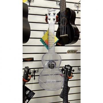 Custom Kala Transparent Ice Water Resistant Soprano Ukulele