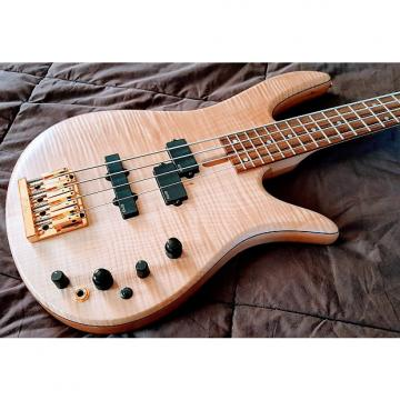 Custom Fodera Monarch Standard Special 4-string, Flame Maple Top, EMGs, 10/2016 build