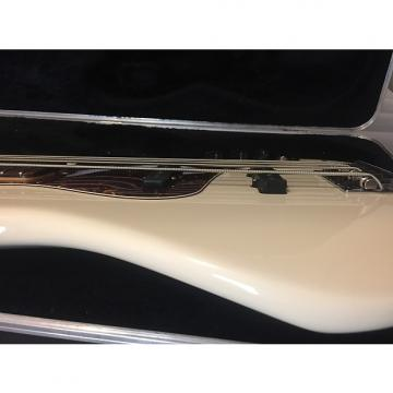 Custom Fender American Standard Jazz Bass V  2008 Olympic White w/ Rosewood Fretboard