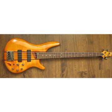 Custom Ibanez SR700 Active 4 String Bass Guitar + Hard Case