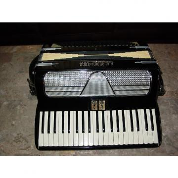 Custom A. Guerrini Italian vintage 60's 16 inch keyboard Black