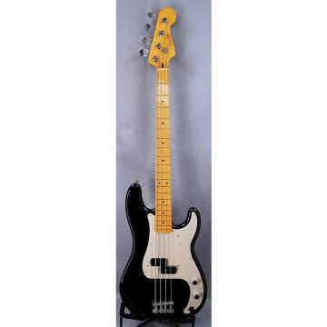 Custom Fender Classic Series '50s Precision Bass Lacquer Black with Maple Neck & Case - Blem Deal!