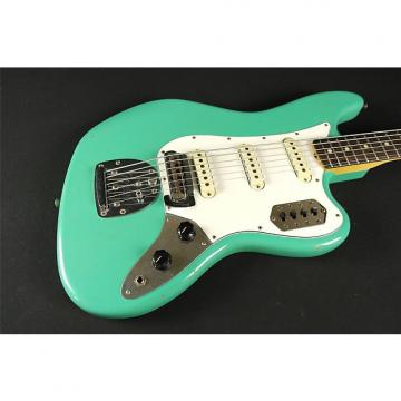 Custom Fender Custom Shop Journeyman Relic Bass Vi - Aged Sea Foam Green (014)