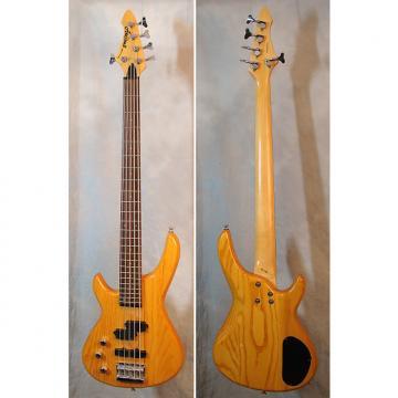 Custom Aria Pro II Avante Series 5-string lefty bass