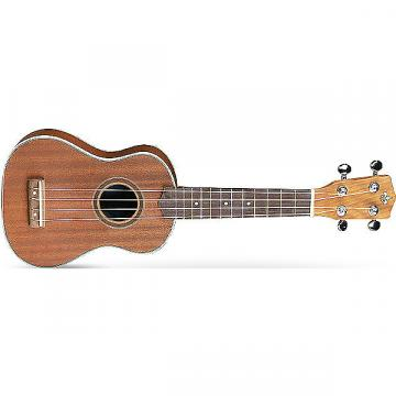 Custom Strinberg UK-11 Natural Spruce Body Rosewood Fingerboard Soprano Ukulele + 5mm Padded Nylon Bag