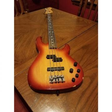 Custom Fender Zone Bass Rose Burst
