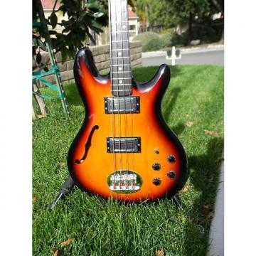 Custom Lakland Skyline Hollowbody 2008 3 Color Sunburst
