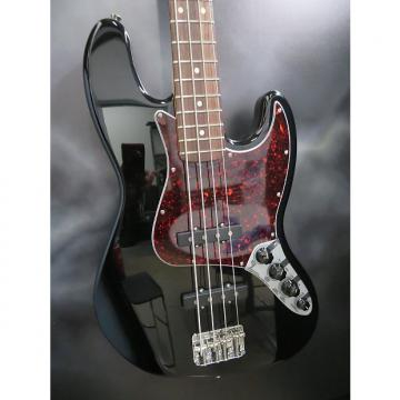 Custom 2001 Fender Deluxe Active Jazz Bass, Black W/ Gig Bag