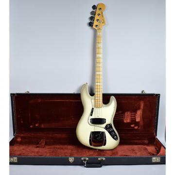Custom Fender Jazz Bass Vintage American Antigua Finish Electric Guitar w/OHSC 1978