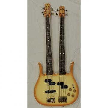 Custom Hondo Double Neck 4-8 Bass ? Cream