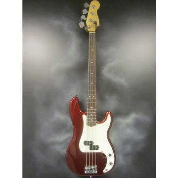 Custom Fender American Standard Precision Bass Guitar Candy Apple Red
