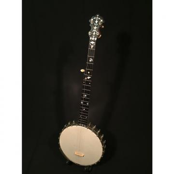 Custom 1894 - SS Stewart Special Banjo (Key of D) with original Ivory Carved Rosette tailpiece