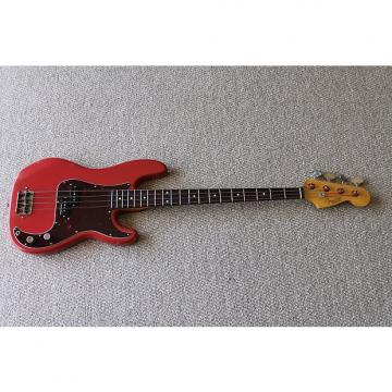 Custom Fender Pino signature style precision bass Fiesta red