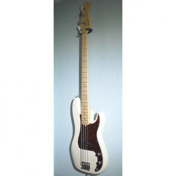 Custom Fender American Standard Precision Bass 2016 Olympic White w/ Maple Fretboard