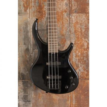 Custom Tobias Toby LTD Standard 4 String Electric Bass Guitar, Jet Black Finish