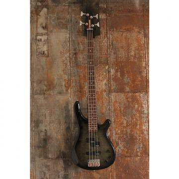Custom Fernandes Japan FRB-40 Revolver 4 String Bass, Trans Black Burst, Ships WW
