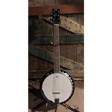 Custom Dean Backwoods 6 String Banjo With Hard Shell Case