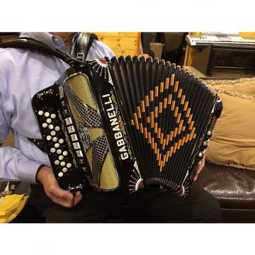 Custom Gabbanelli Model 900 Diatonic Accordion 2007
