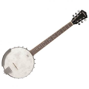 Custom Washburn B6 6-String Banjo Natural Matte Remo Head - B-Stock