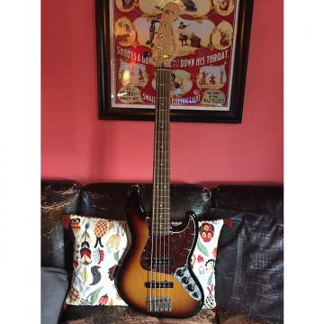 Custom Fender Deluxe Active Jazz Bass V 2014 3-Color Sunburst