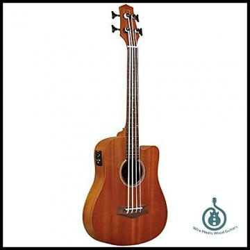 Custom Gold Tone M-BASS 23-Inch Scale Acoustic-Electric MicroBass with Gig Bag; Free Shipping