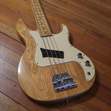 Custom Peavey T-20 4-String Bass 1982 #01256205 Natural Made in USA
