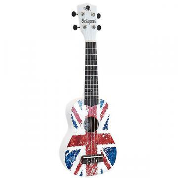 Custom Octopus Soprano Ukulele Outfit in Union Jack