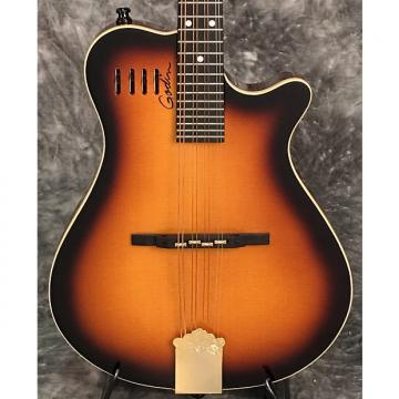 Custom Godin A-8 Electric Mandolin Sunburst