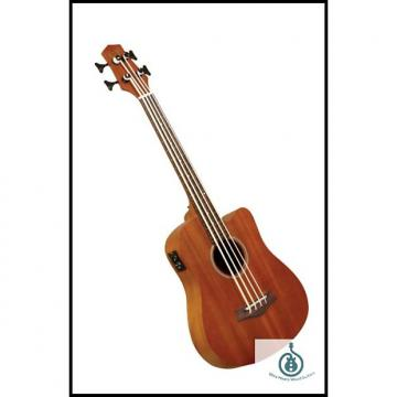 Custom Gold Tone M-BASS25FL 25-Inch Scale Fretless Acoustic-Electric MicroBass w/ Gig Bag, Free Shipping
