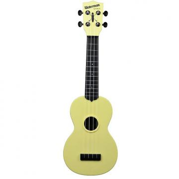 Custom Kala KA-SWB-YL Waterman Soprano Ukulele - Pale Yellow Matte