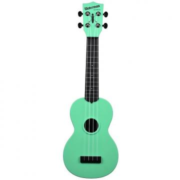 Custom Kala KA-SWB-GN Waterman Soprano Ukulele - Sea Foam Green Matte