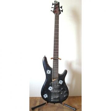 Custom Vester 5 String Bass OPR 1235 Vintage Gear repainted chips rust and dust- works
