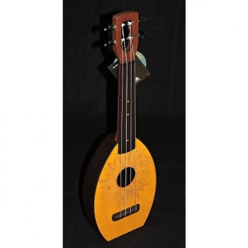 Custom Magic Fluke M30 Sunflower Design Soprano Flea Ukulele
