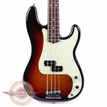 Custom Brand New Fender American Professional Precision Bass Rosewood Fretboard in 3 Color Sunburst Demo