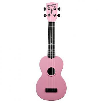 Custom Kala KA-SWB-PK Waterman Soprano Ukulele - Soft Pink Matte