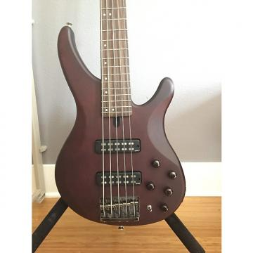 Custom Yamaha TRBX505 5-String Bass 2015 Brown