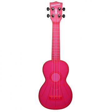 Custom Kala KA-SWF-PK Waterman Soprano Ukulele - Fluorescent Pink Gloss