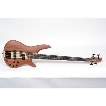 Custom Ibanez SR750 Electric Bass, Natural Flat Buginga Neck Nordstrand Pickups!