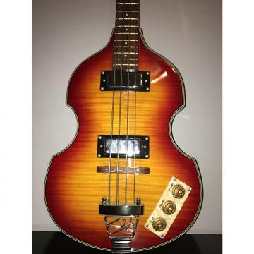 Custom Epiphone Viola Bass Sunburst